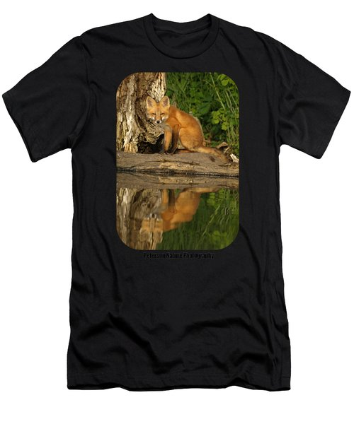 Fox Reflection Shirt Men's T-Shirt (Athletic Fit)