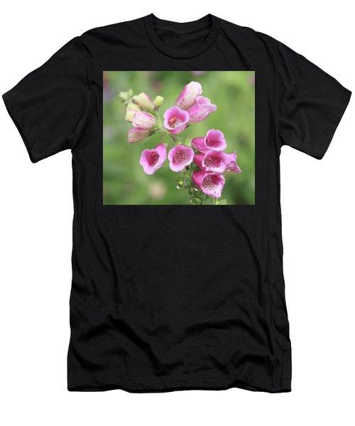 Foxgloves  Men's T-Shirt (Athletic Fit)