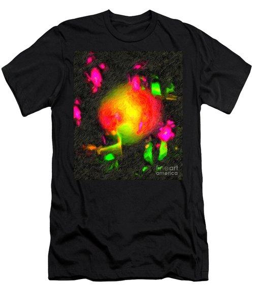 Fractal Art 1 Men's T-Shirt (Athletic Fit)