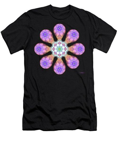Fractal Blossom 2 Men's T-Shirt (Athletic Fit)