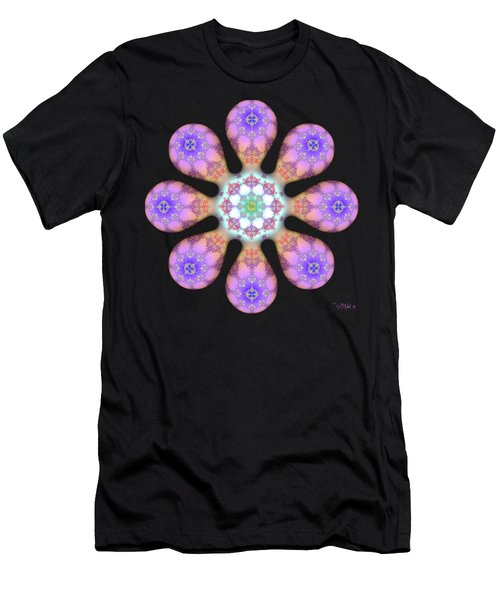 Fractal Blossom 2 Men's T-Shirt (Athletic Fit)