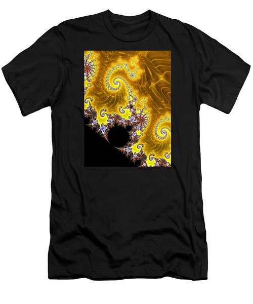 Men's T-Shirt (Slim Fit) featuring the photograph Fractal Coastline by Ronda Broatch