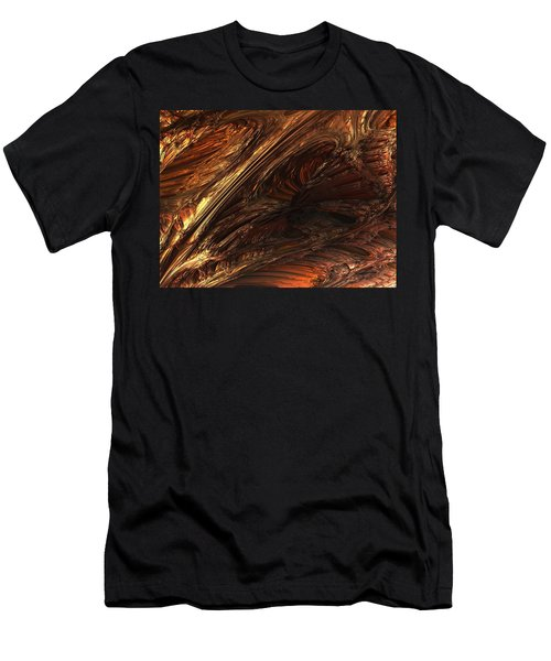 Fractal Structure 003 Men's T-Shirt (Athletic Fit)