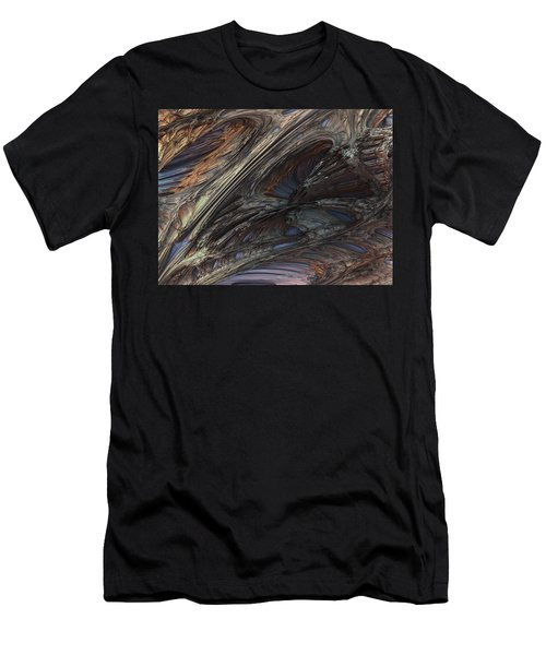 Fractal Structure 005 Men's T-Shirt (Athletic Fit)