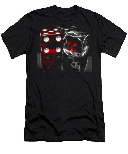 Fractalius Dice Men's T-Shirt (Athletic Fit)