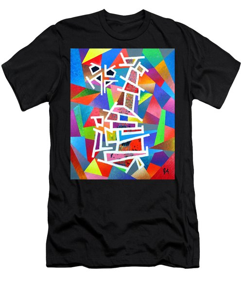 Fractured Instrument Of Love Men's T-Shirt (Athletic Fit)