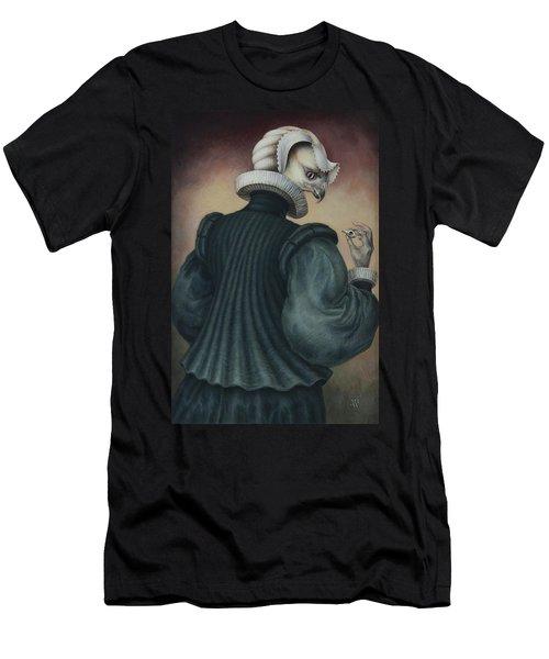 Fragile Assertion Men's T-Shirt (Slim Fit) by Yvonne Wright