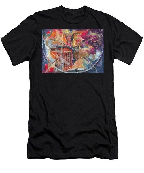 Fragile Detail  Men's T-Shirt (Athletic Fit)