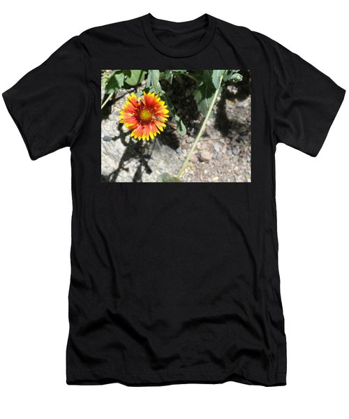Fragile Floral Life On The Trail Men's T-Shirt (Athletic Fit)