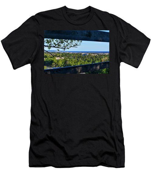 Framed View Men's T-Shirt (Athletic Fit)