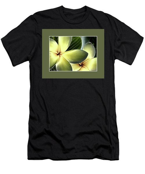 Frangipani - Plumeria Men's T-Shirt (Athletic Fit)