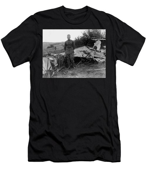Frank Luke - Ww1 Fighter Ace Men's T-Shirt (Athletic Fit)