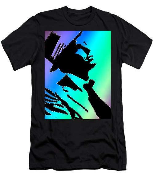 Frank Sinatra Over The Rainbow Men's T-Shirt (Athletic Fit)