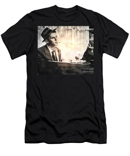 Frank Sinatra - Vintage Painting Men's T-Shirt (Athletic Fit)