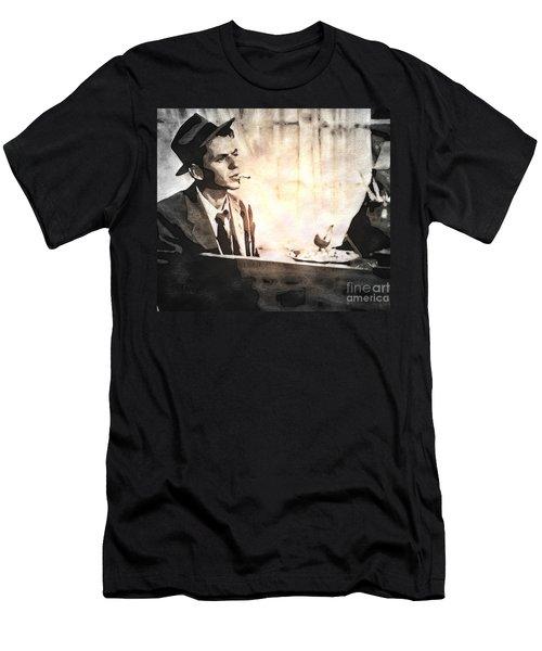 Frank Sinatra - Vintage Painting Men's T-Shirt (Athletic Fit)