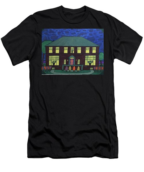 Frank Spies Home. Historical Menominee Art. Men's T-Shirt (Athletic Fit)