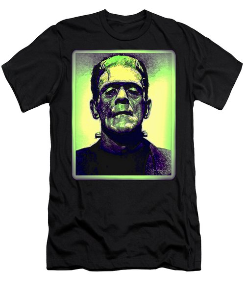 Frankenstein In Color Men's T-Shirt (Athletic Fit)