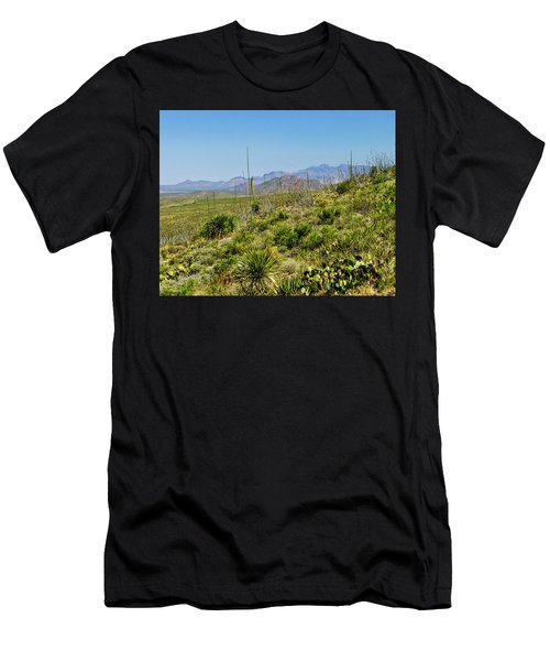 Franklin Mountains State Park Facing North Men's T-Shirt (Athletic Fit)