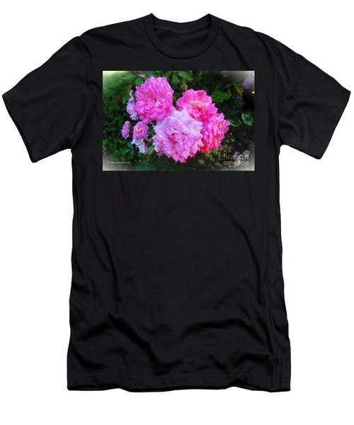 Frank's Roses Men's T-Shirt (Athletic Fit)