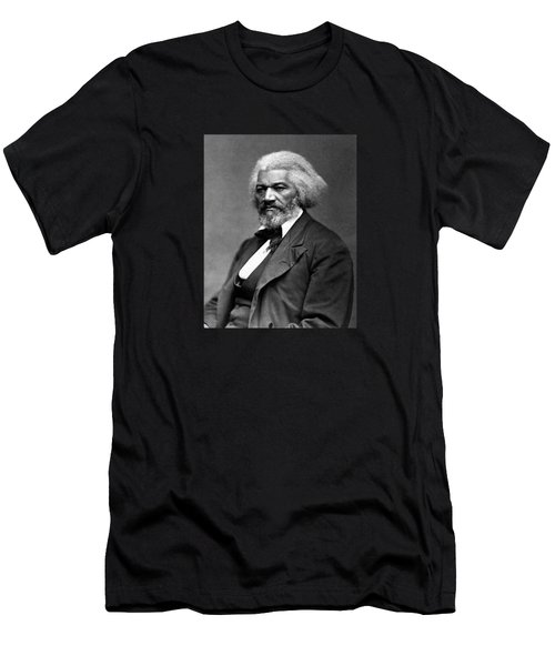 Frederick Douglass Photo Men's T-Shirt (Athletic Fit)