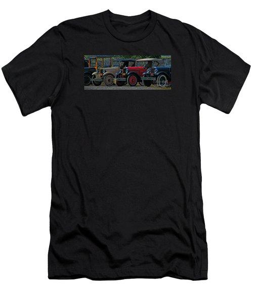 Free Parking Men's T-Shirt (Slim Fit) by Janice Westerberg
