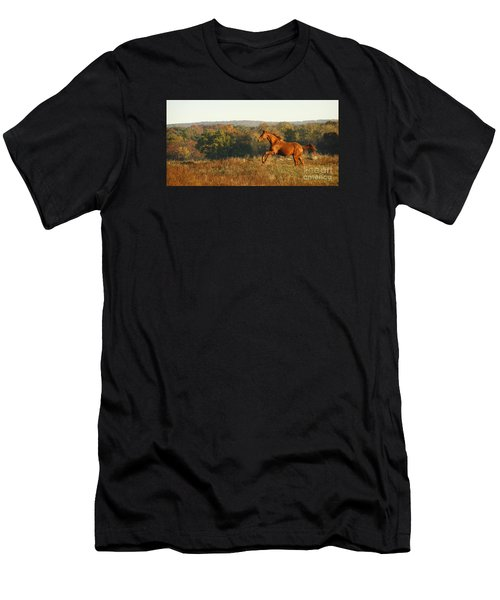 Freedom In The Late Afternoon Men's T-Shirt (Athletic Fit)