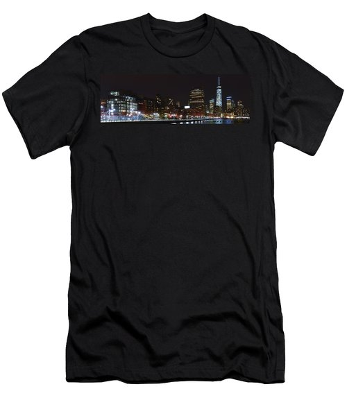 Freedom Skyline Men's T-Shirt (Athletic Fit)