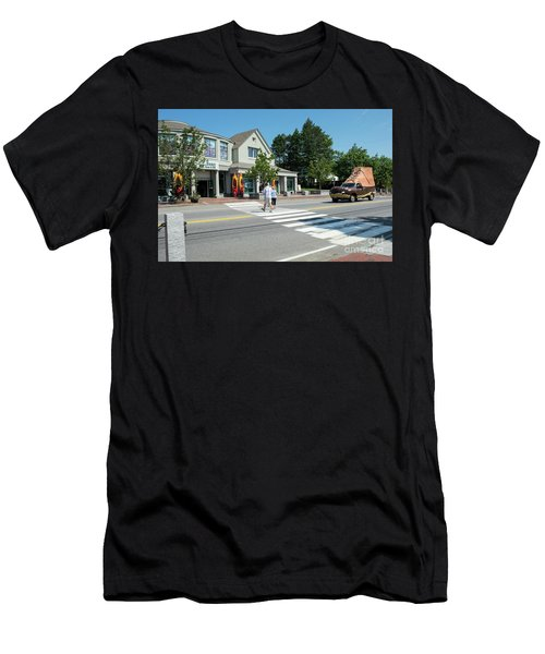 Freeport, Maine #130398 Men's T-Shirt (Athletic Fit)