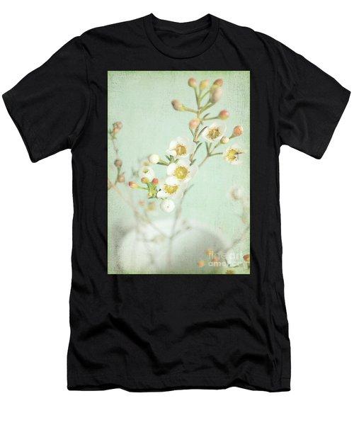 Freesia Blossom Men's T-Shirt (Athletic Fit)
