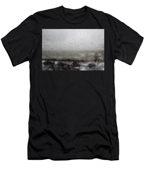 Freezing Rain Men's T-Shirt (Athletic Fit)