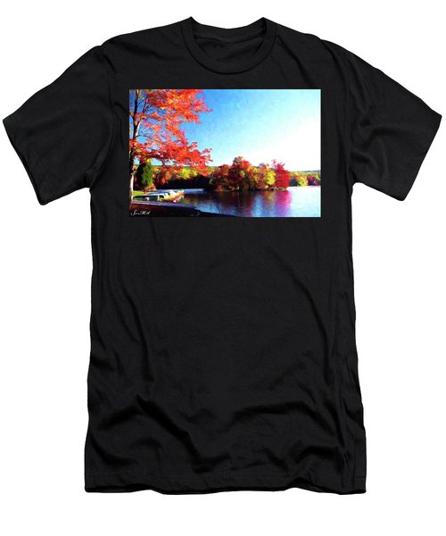 French Creek Fall 020 Men's T-Shirt (Athletic Fit)