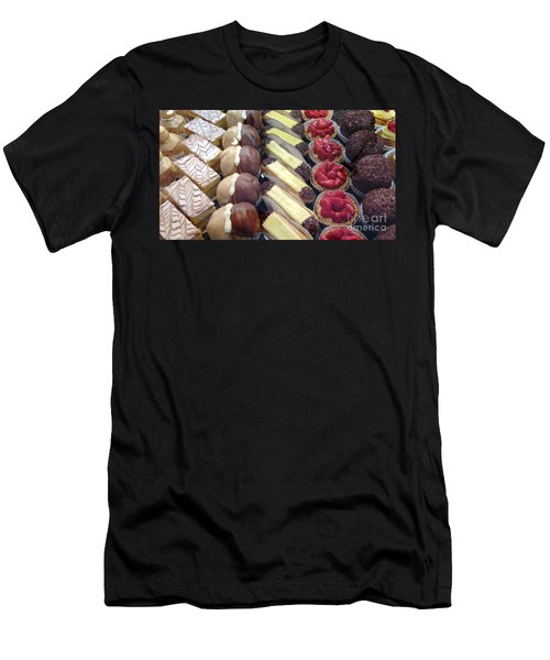 Men's T-Shirt (Slim Fit) featuring the photograph French Delights by Therese Alcorn