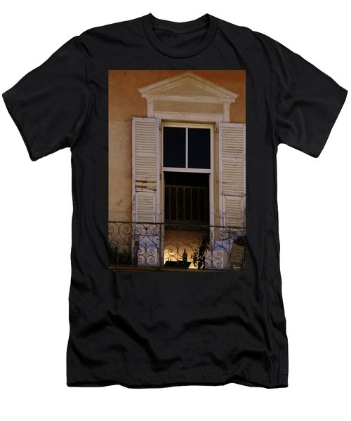 Men's T-Shirt (Athletic Fit) featuring the photograph French Evening by Rasma Bertz