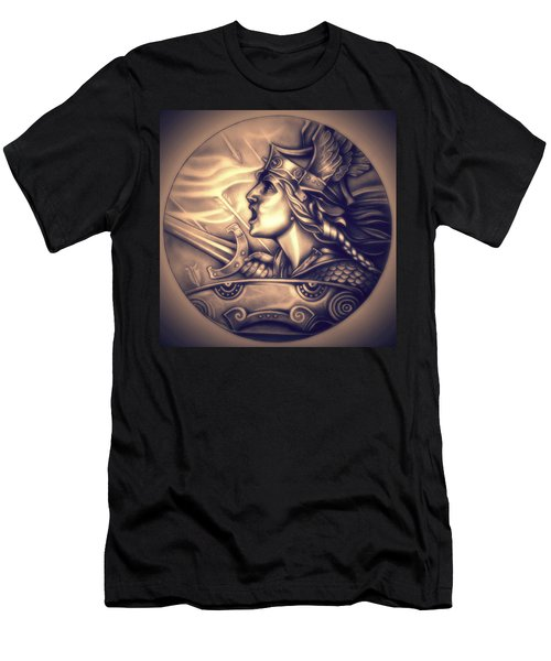 French Genius In Armor Men's T-Shirt (Athletic Fit)