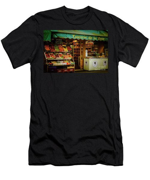 French Groceries Men's T-Shirt (Athletic Fit)