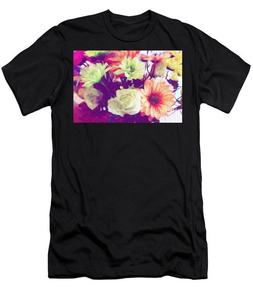 Fresh Flowers Men's T-Shirt (Athletic Fit)