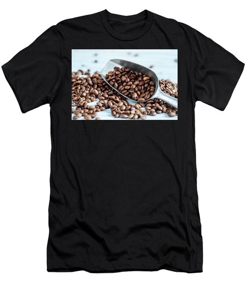 Fresh Roasted Coffe Beans Men's T-Shirt (Athletic Fit)