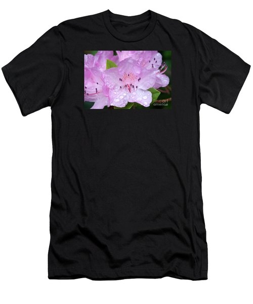 Men's T-Shirt (Slim Fit) featuring the photograph Fresh Summer Rain by Alana Ranney
