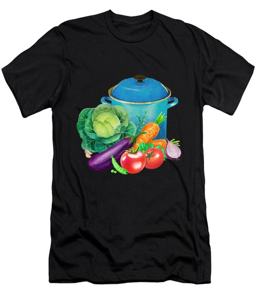 Fresh Vegetable Bounty Men's T-Shirt (Athletic Fit)