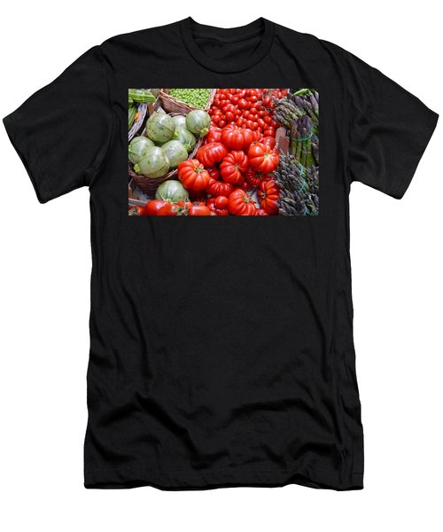 Fresh Vegetables Men's T-Shirt (Athletic Fit)