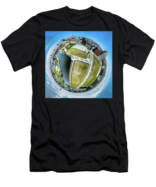 Freshwater Way Little Planet Men's T-Shirt (Athletic Fit)