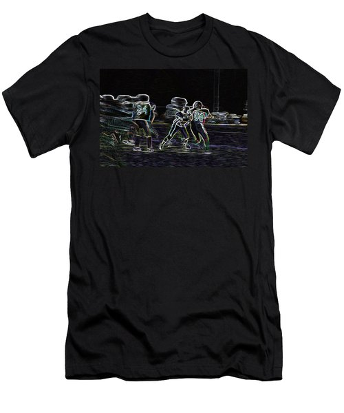 Friday Night Under The Lights Men's T-Shirt (Athletic Fit)