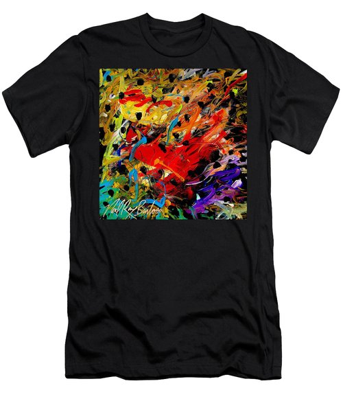 Friends Of The Praying Mantise Men's T-Shirt (Athletic Fit)