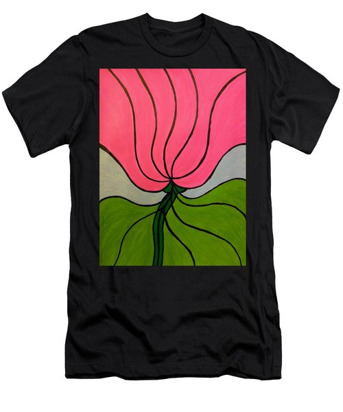 Friendship Flower Men's T-Shirt (Slim Fit)