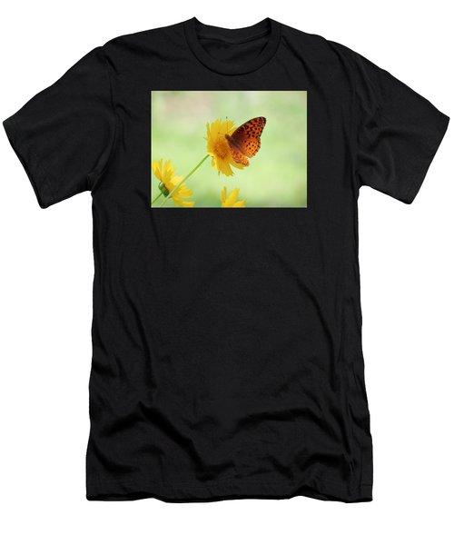 Fritillary Fun Men's T-Shirt (Athletic Fit)