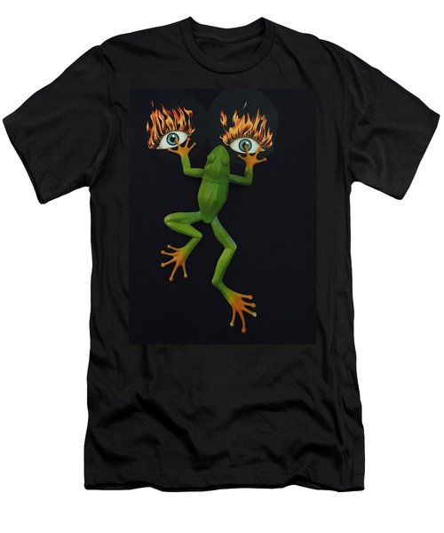 Frog Face Men's T-Shirt (Athletic Fit)