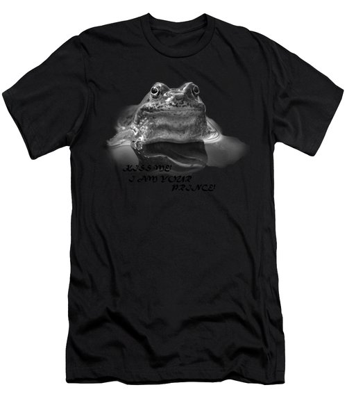 Frog The Prince Men's T-Shirt (Athletic Fit)
