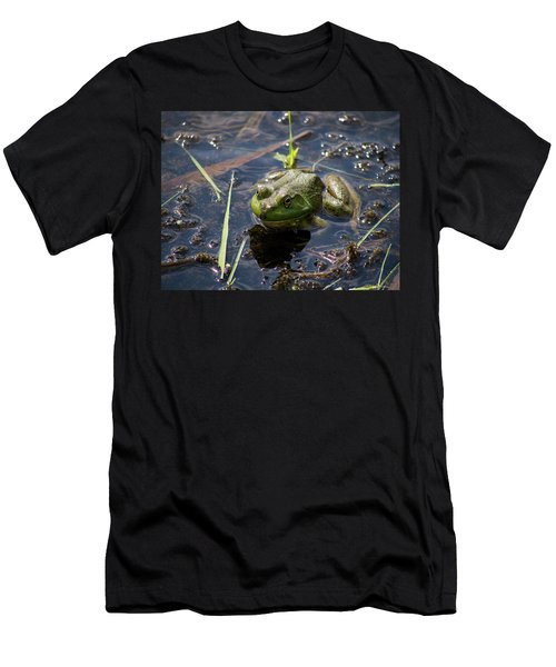 Frog  Men's T-Shirt (Slim Fit) by Trace Kittrell
