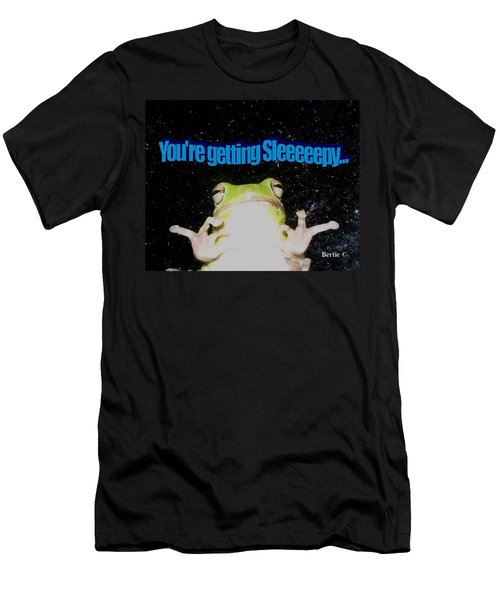 Frog  You're Getting Sleeeeeeepy Men's T-Shirt (Athletic Fit)