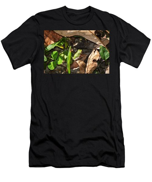 Froggy  Men's T-Shirt (Athletic Fit)